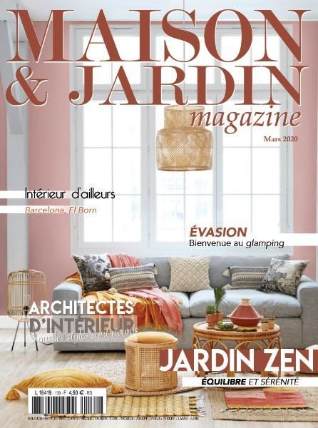 Magazine MAISON ET JARDIN, il y a un an