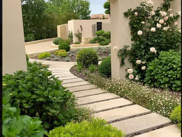 Aménagement d'un jardin d'exception sur la commune de Tourettes